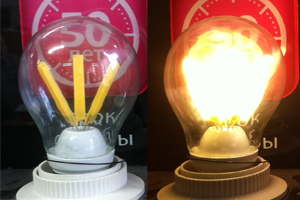 Новая светодиодная лампа iRLED