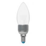 Диммируемая светодиодная лампа Uniel CRYSTAL свеча матовая (E14 5 Вт) 3000K