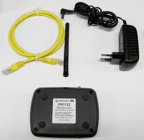 Комплектация Ethernet-шлюза PR1132
