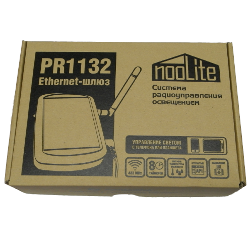 Упаковка Ethernet-шлюза NooLite PR1132