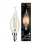 Светодиодная лампа Gauss LED Filament Candle tailed E14 5W 2700K