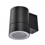 Влагозащищенный светильник Ecola для 1й лампы GX53 IP65 Цилиндр 8003A черный