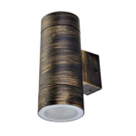 Двунаправленный влагозащищенный светильник Ecola GX53 IP65 Цилиндр 8013A черненая бронза