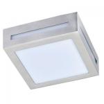 Влагозащищенный светильник Ecola для 1й лампы GX53 IP65 Квадрат 3082W сатин-хром