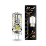 Светодиодная LED лампа Gauss LED G4 AC150-265V 3W 2700K
