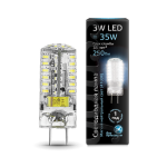 Светодиодная LED лампа Gauss LED GY6.35 AC150-265V 3W 4100K