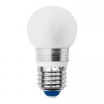 Cветодиодная лампа Uniel CRYSTAL G45 шар матовый (E27 5 Вт) 3000K