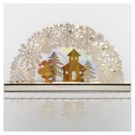 Деревянная фигурка с подсветкой 'Рождественская сказка' 44,5*6*24 см NEON-NIGHT