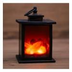 Светодиодный камин 'Кантри' с эффектом живого огня 12х12х18,5 см, батарейки 3хАА (не в комплекте) NEON-NIGHT