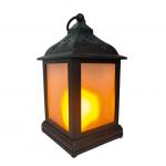 Светодиодный светильник-фонарь ARTSTYLE TL-952B с эффектом живого пламени черный