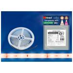 Светодиодная лента для растений Uniel ULS-P70-2835-48LED/m-10mm-IP65-DC24V-14,4W/m-3M-SPRF Питание 24В кремовый свет